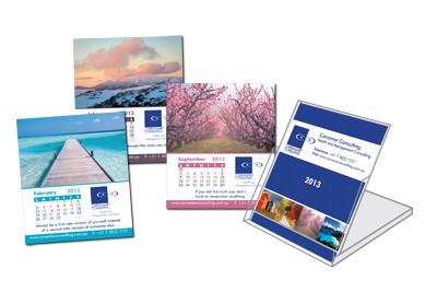 Carramar Flip Desk Calendar