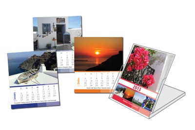 Heather Flip Desk Calendar