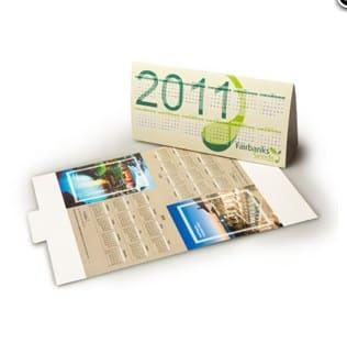 Economical Tent Calendar