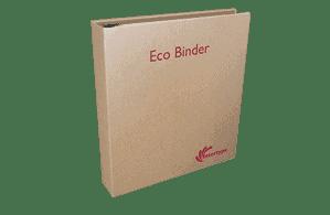 Custom printed ring binders