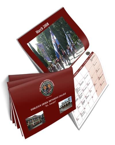 Oakleigh Wall Calendar