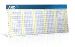 Custom printed Wall Planner