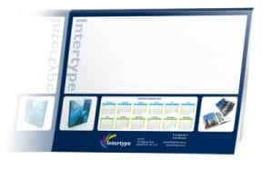 Custom printed Desk pad