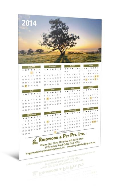 Ringwood Magnetic Calendar