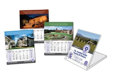 Scottish Flip Desk Calendar