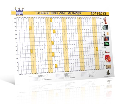 Storage King Wall Planner