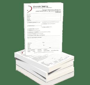 printed referral pads