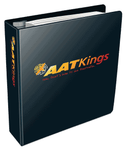 AAT Kings ring binder