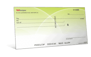 Novelty Cheque