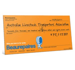 novelty cheque