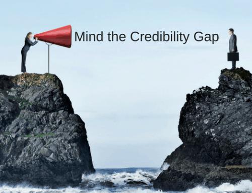 Mind the Credibility Gap
