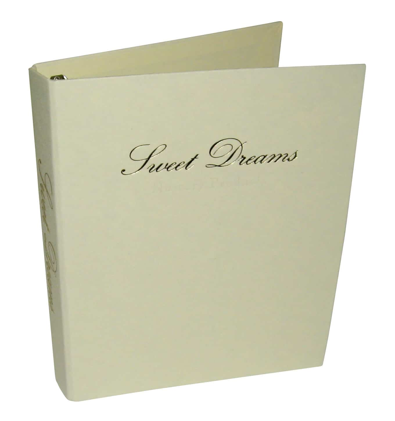 Foil Embossed Company Register Binders
