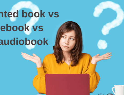 Printed Books Vs eBooks Vs Audiobooks